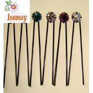 PINCHO MOÑO NEGRO FLOR ROMBO COLORES